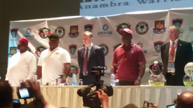 GOSSIP, GISTS, EVERYTHING UNLIMITED: Ifeanyi Ubah Meets West Ham Officials In Lagos For...