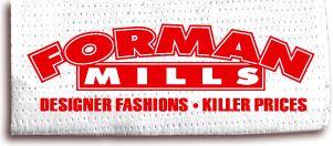 Forman Mills: cheap uniforms