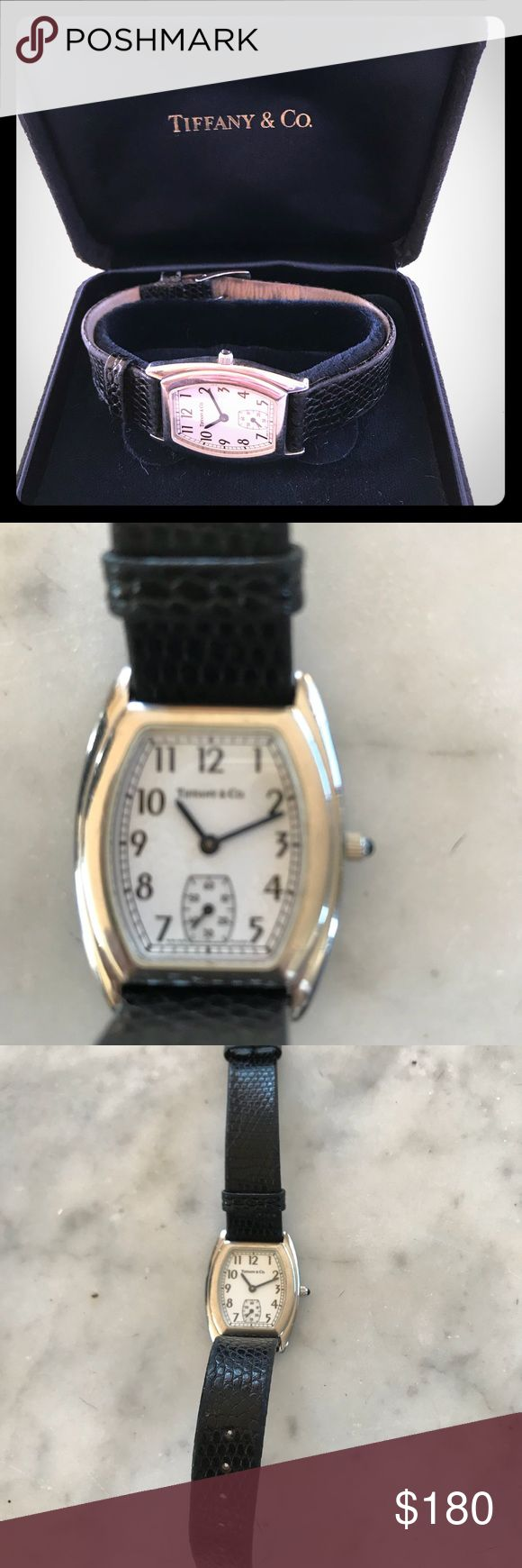 Tiffany watch Vintage Tiffany Atlas watch.   Circa 2000, worn and needs repair, but if you love vintage and Tiffanys it's totally worth it and a classic! Tiffany & Co. Accessories Watches
