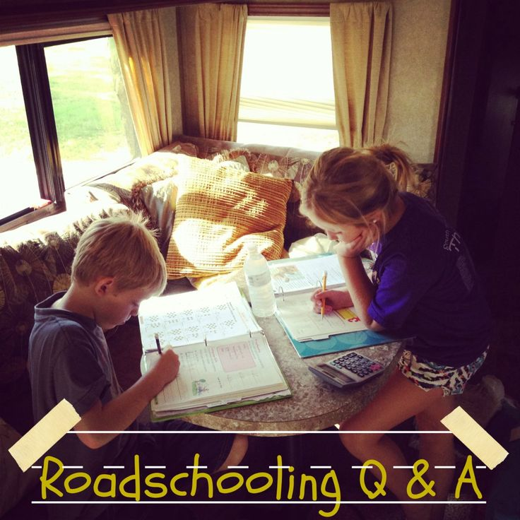roadschooling, homeschool, rving with kids