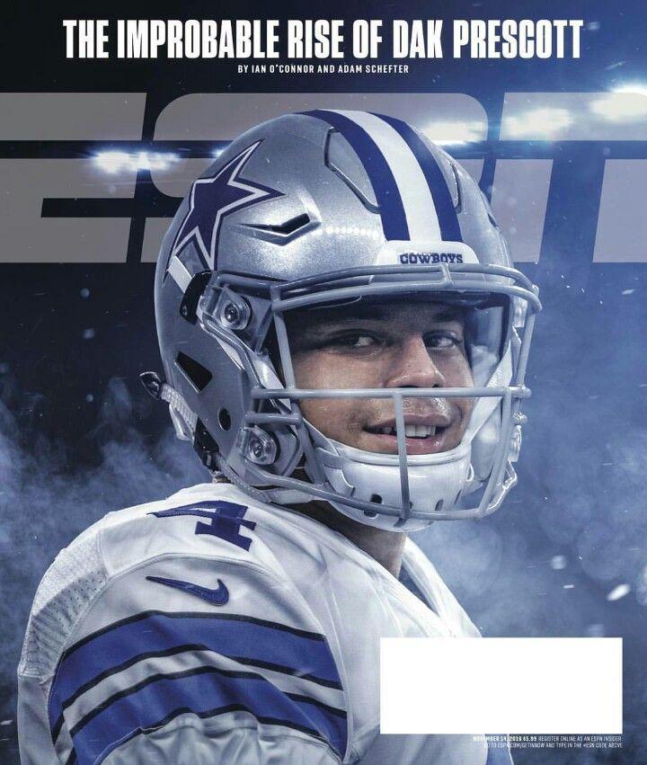 Dak Prescott ESPN Dallas Cowboys #DC4L America's Team  TDCfans.com