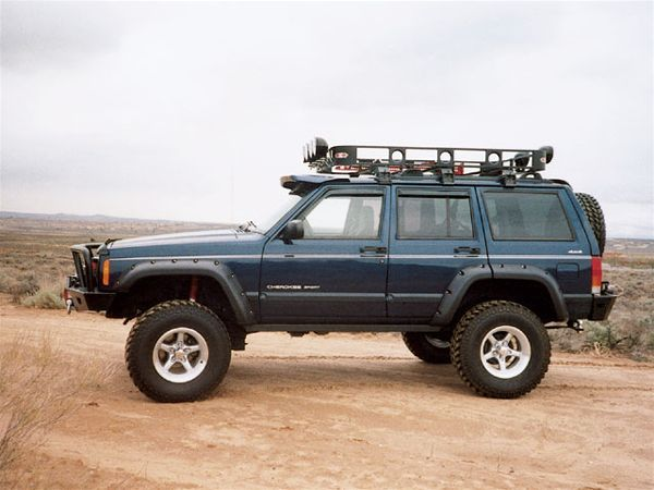 2001 Jeep Cherokee Sport side Photo 9369381