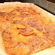 Spicy Sweet Potato-Coconut Gratin | Food | Pinterest | Gratin, Sweets ...