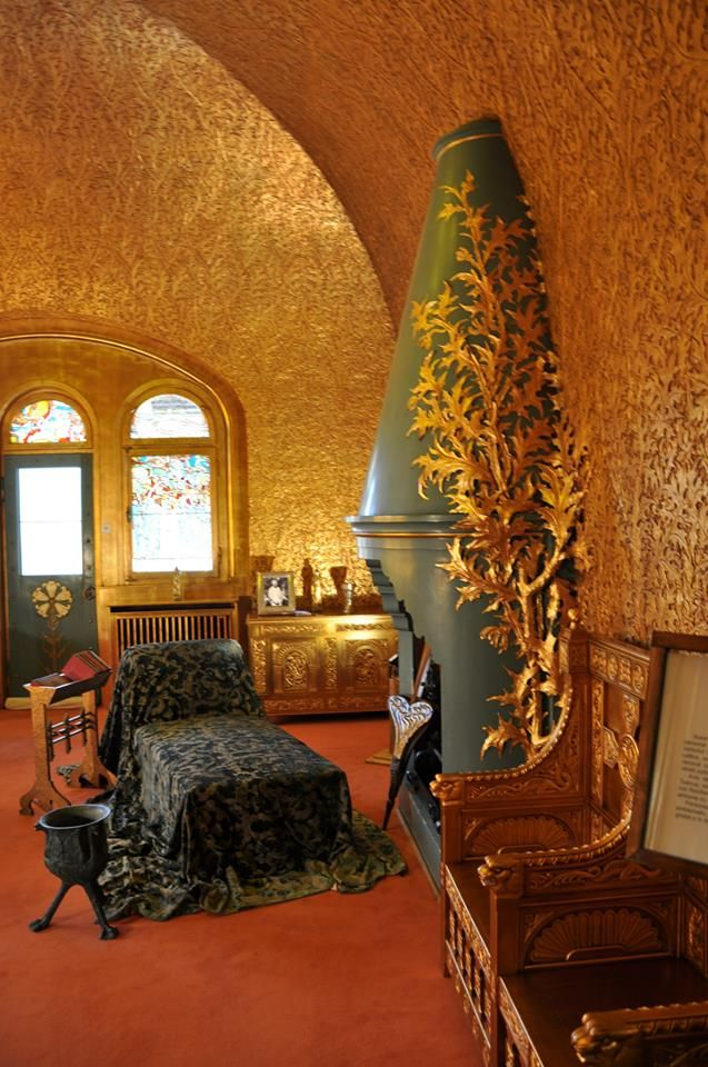 Art Nouveau  at Pelisor Castle in Sinaia