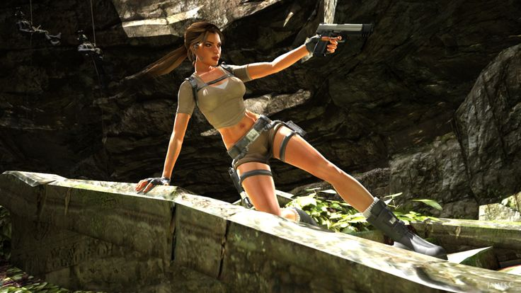 lara croft by james - photo #14