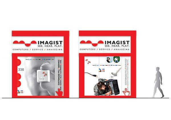 Imagist on Behance #signage #logodesign #identity