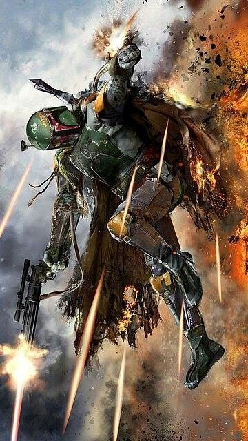 Boba Fett by John Gallagher