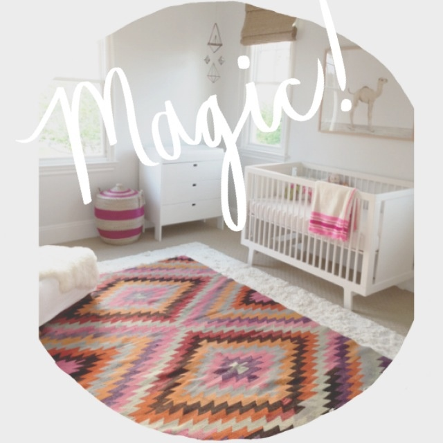 Client awesome Baby girl room. Follow along on @Amber Interiors Instagram and blog