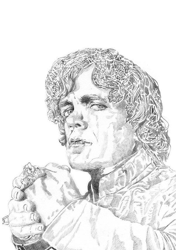 Game Of Thrones - Tyrion on Behance