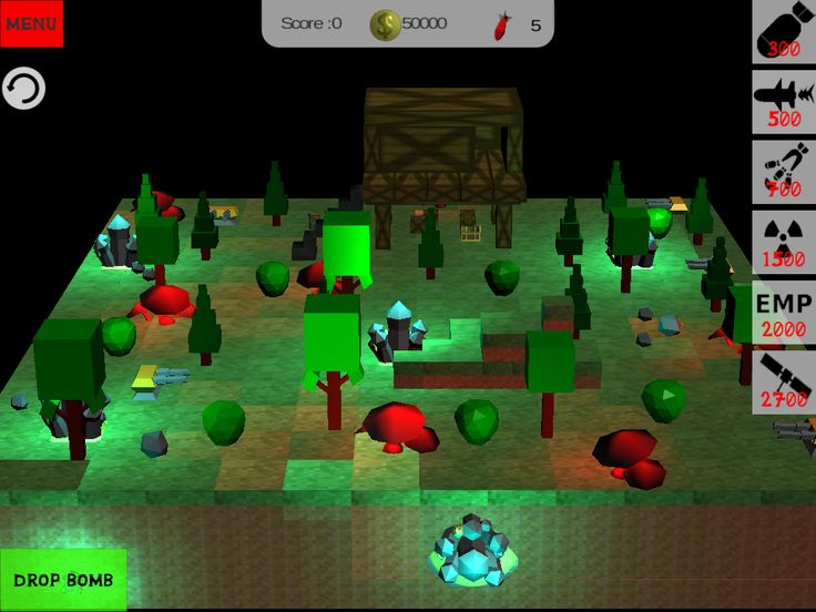 Blocky bomb apocalypse #magic #forest #minecraft #android #game #unity3d #destruction