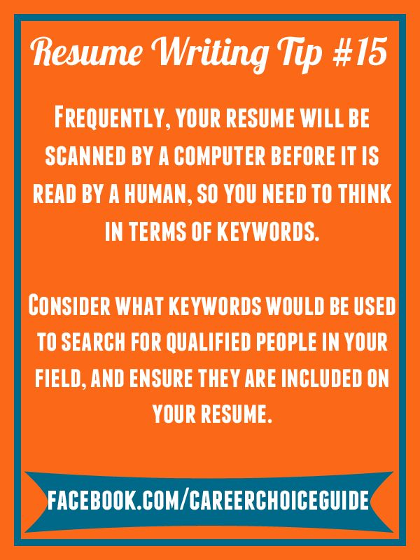 31 best Quick Job Search Tips from Career Choice Guide images on - read write think resume