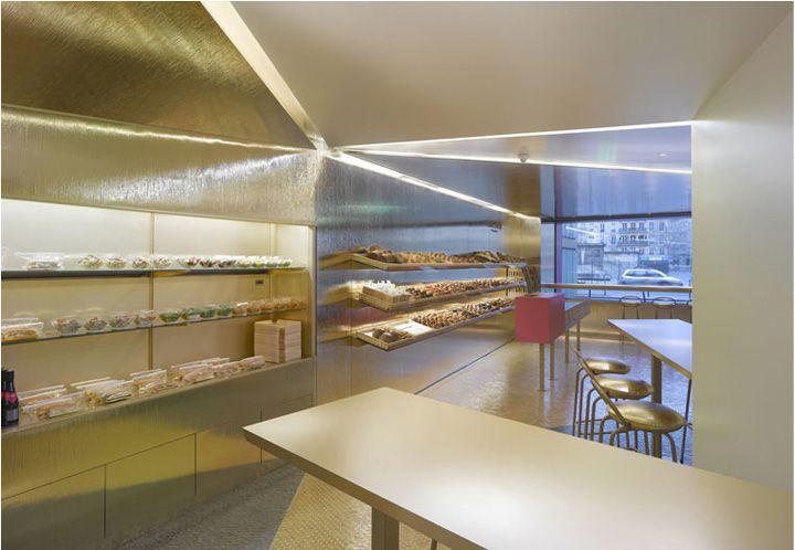 Fauchon food shop by Christian Biecher, Paris store design hotels and restaurants