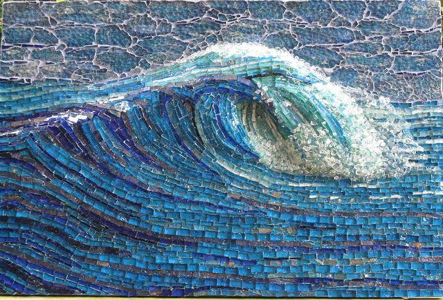 Mosaic - Stunning! - My Wave by mosaicdownunder/ Inge, via Flickr