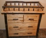 Rustic Changing Table