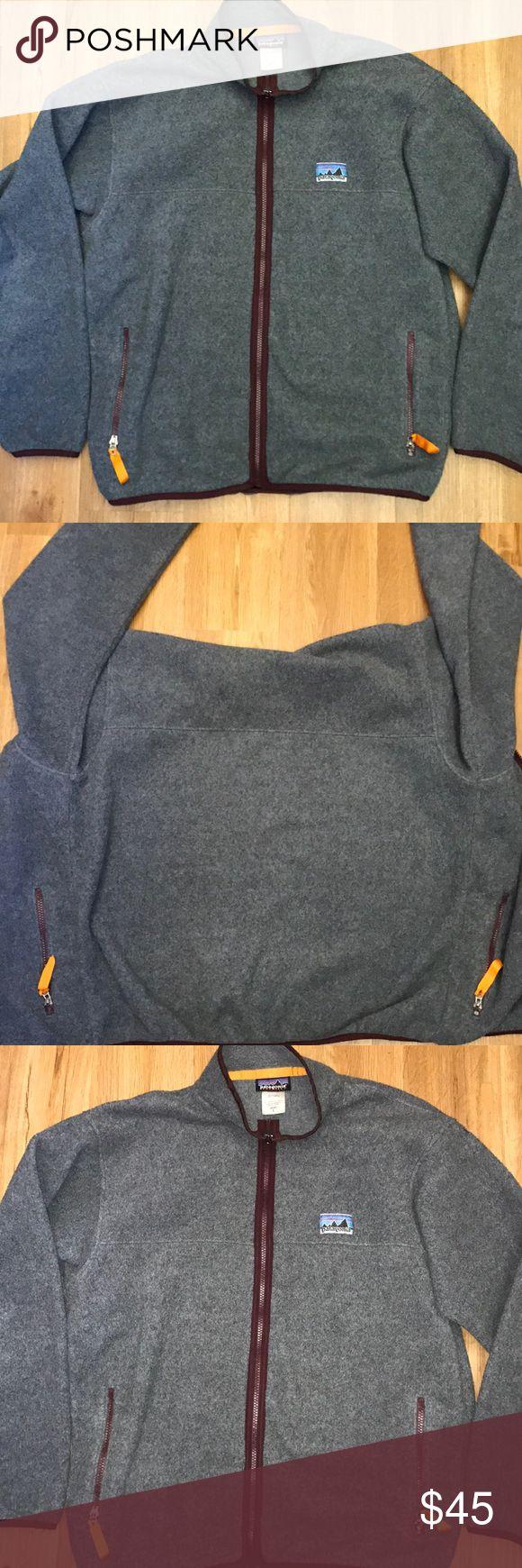 Patagonia synchilla gray full zipped jacket L Patagonia synchilla jacket size L Patagonia Jackets & Coats