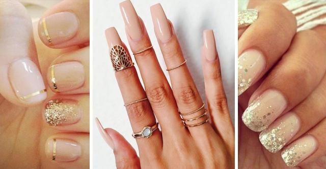 Galeria paznokci: paznokcie w kremowych odcieniach