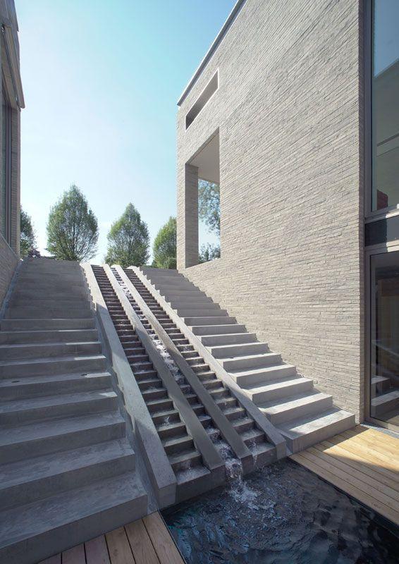 Die Treppenanlage des Atriums. <br/>Foto © Rainer Mader, Köln