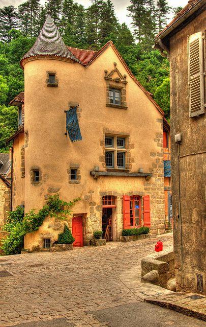 Aubusson, Limousin, França