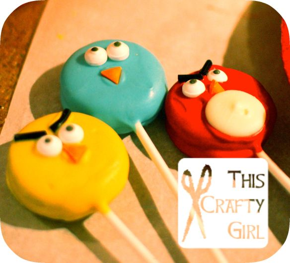 Angry Bird Cake Pops For Sale