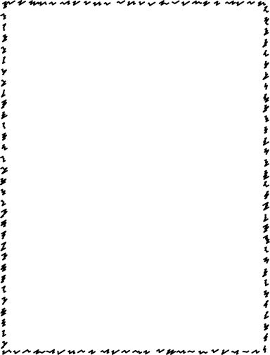 Scalloped Border - Free Page Borders