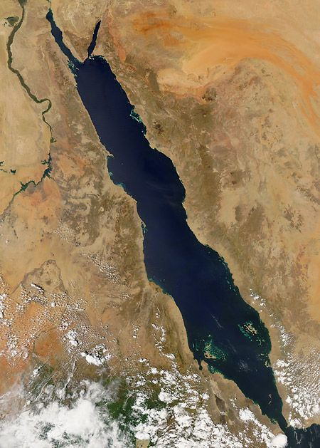 The Red Sea...used to live there, starkly beautiful place and AWESOME SCUBA diving