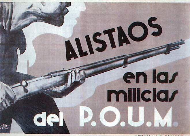 Carteles del POUM -Fundació Andreu Nin.