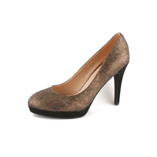 Lek Platform High Heel Court Shoe