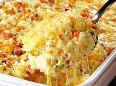 :) Cocina italiana: receta de arroz al horno con queso | Más en https://lomejordelaweb.es