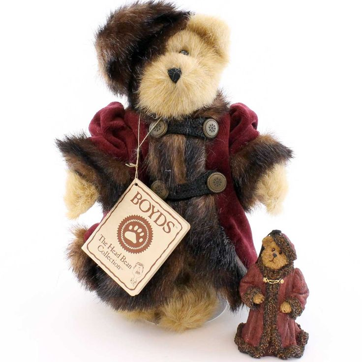 Boyds Bears Plush Bailey In Russia W/ Ornament Teddy Bear Height: 8 Inches Material: Fabric Type: Teddy Bear Brand: Boyds Bears Plush Item Number: Boyds Bears Plush 99117V Catalog ID: 8808 New. Set Of