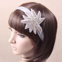 Высокое качество кристалл горный хрусталь цепочка свадебные лента для волос аксессуары волосы повязка на голову свадьба ювелирные изделия Accessoies