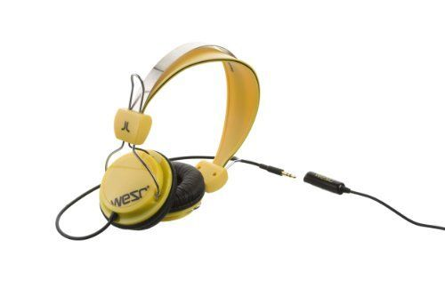 WeSC Bongo Headphone Dandelion Yellow ** Be sure to check out this awesome product.