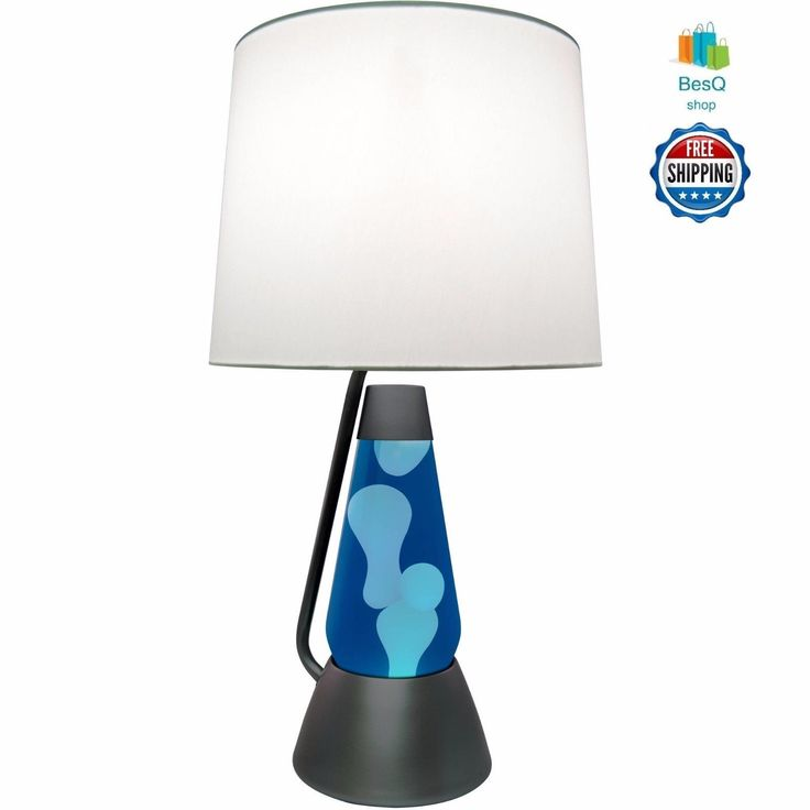 Bright Source 18.5 Lava Lamp With 52 Oz Glitter Globe  (Shade Sold Separately)  An innovative lighting concept from the makers of the original Lava Lamp. Watch the beauty of a liquid motion lamp with the functionality of a bright table lamp. Th...