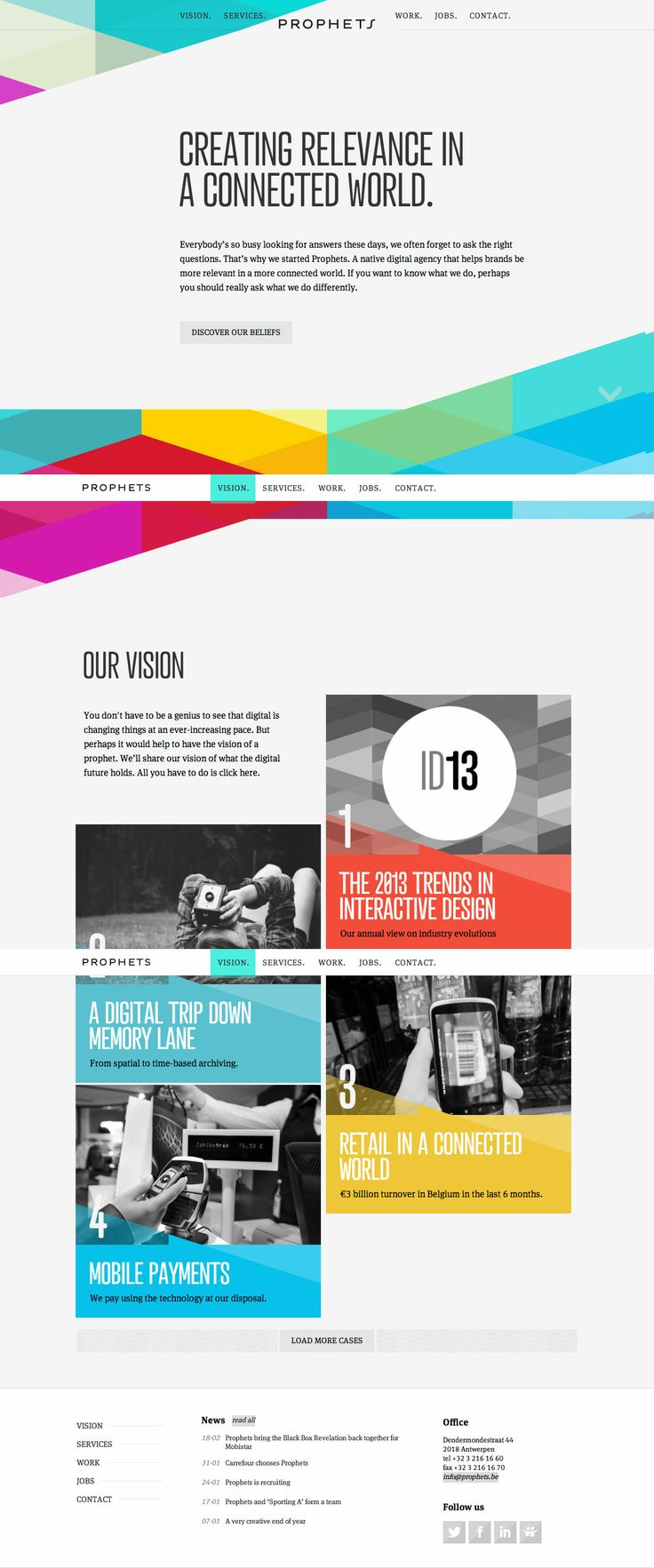644 best Creative web layout & Inspiration images on Pinterest