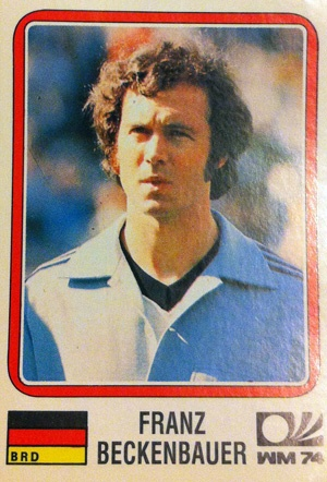 Franz Beckenbauer, mundial Alemania 1974.