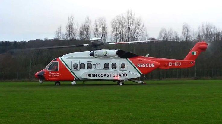Sikorsky S-92 | Starting Up | Irish Coast Guard - YouTube