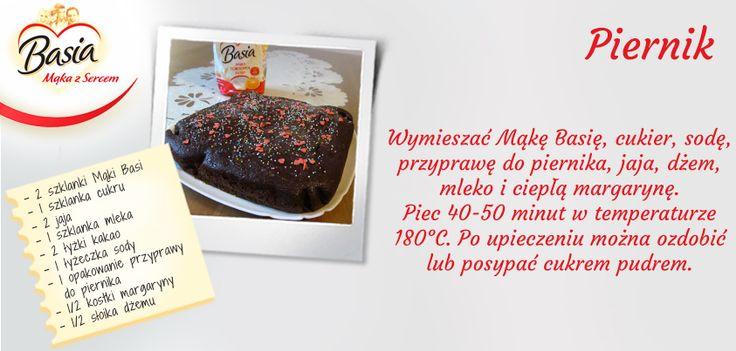 Piernik www.mojabasia.pl/przepisy.html