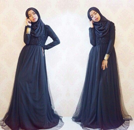 Long dress for hijaber