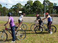 Learn To Ride Lessons: Sydney Bike Skills can teach you how to ride a bike even if you have never ridden one before. Our teachers are experienced in teaching balance and coordination activities that can assist you to ride a bike confidently and with control.  One on one lessons are also available.