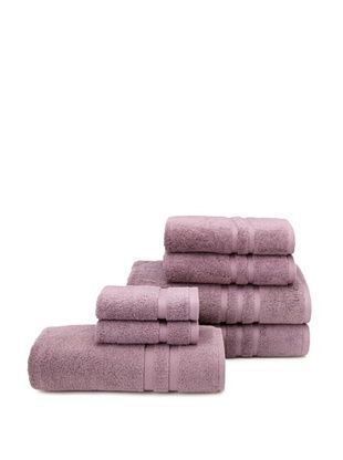 62% OFF Chortex 7-Piece Irvington Bath Towel Set, Grape