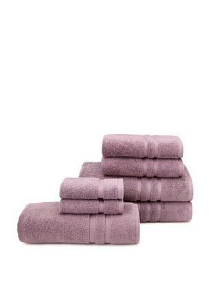 62% OFF Chortex 7-Piece Irvington Bath Towel Set, Grape