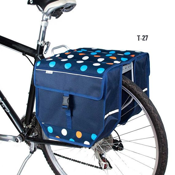 Beluko T Double Pannier Bag Bicycle Cycle Bike Shopping Commuters