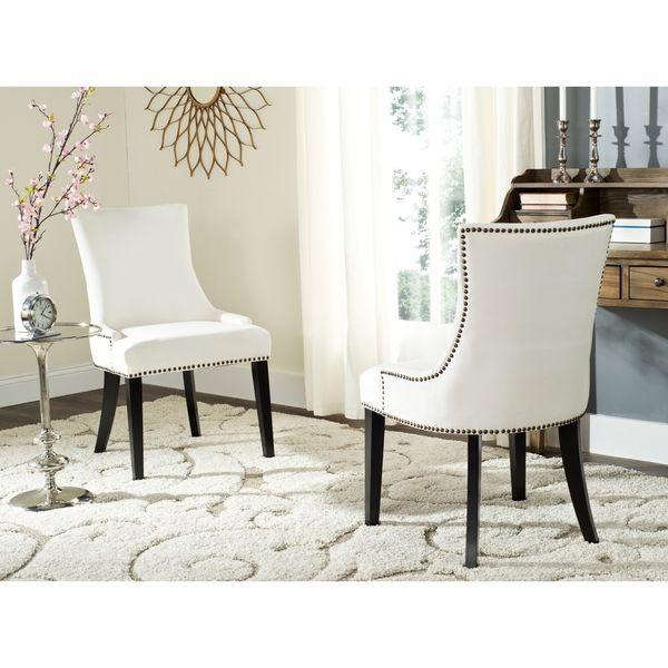Safavieh Lester White Dining Chair (Set Of 2)