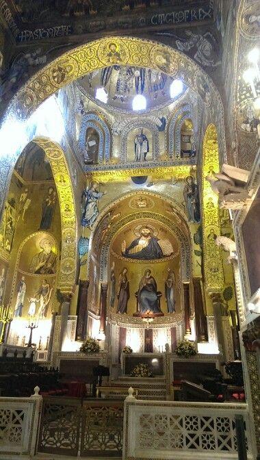 Chapelle Palatine à Palerme