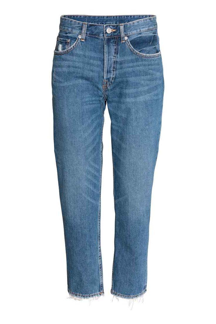 Boyfriend Low Ripped Jeans (azul denim): H&M (29,99€)