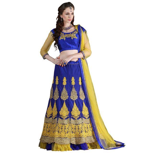 #Lehenga #Choli- The Mesmerizing And #Royal Wear For The Princess #Bride