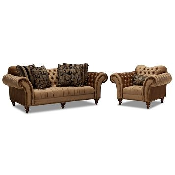 Brittney Upholstery 2 Pc. Living Room W/Chair   Value City Furniture  $1,799.98 Part 47