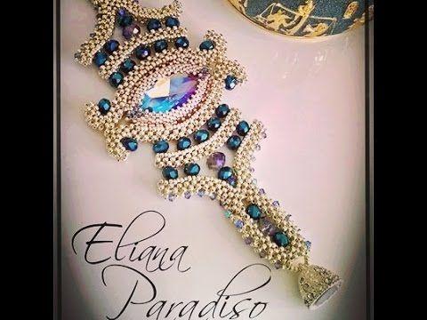 Parure Cleopatra eyes il mio ultimo bead work perline vi amo ! - YouTube