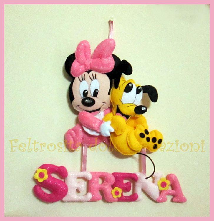 Fiocco nascita per Serena (Minnie e Pluto).jpg (727×751)