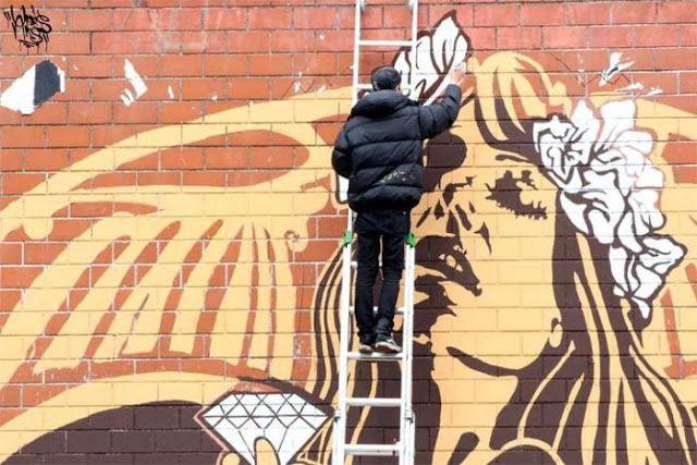[People] Lo stile Liberty di Diamond, lo street artist romano che si ispira a Klimt, intervista di Samantha Terrasi