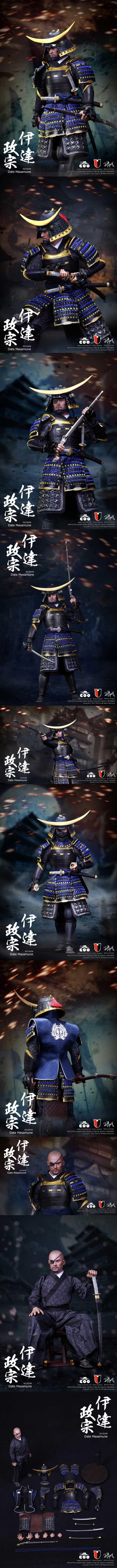 [[예약상품]COOMODEL - 1/6 Japan's Warring States - Date Masamune (SE008)]
